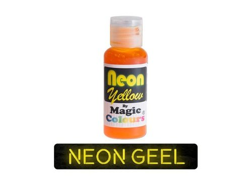 magic colours neon yellow geel