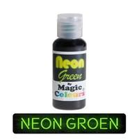 magic colours neon green groen