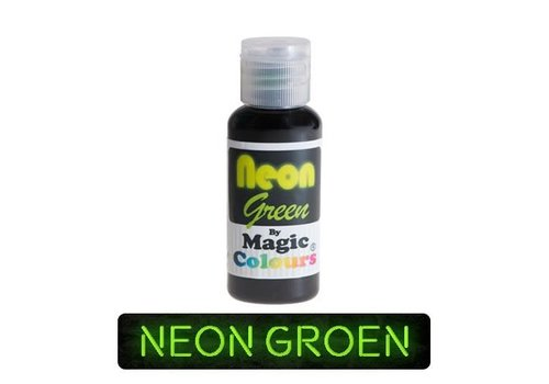 magic colours neon green groen