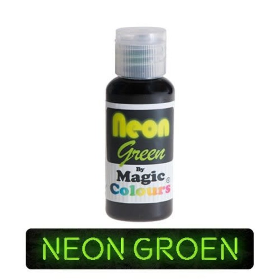 magic colours neon green groen-1