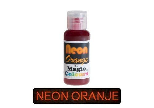 magic colours neon orange oranje