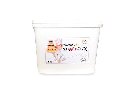 Smartflex 10 kilo emmer vanille wit