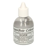 Sugarflair Airbrush Colouring -Silver- 60ml