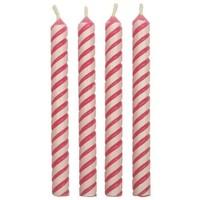 PME Candles Striped Pink Pk/24