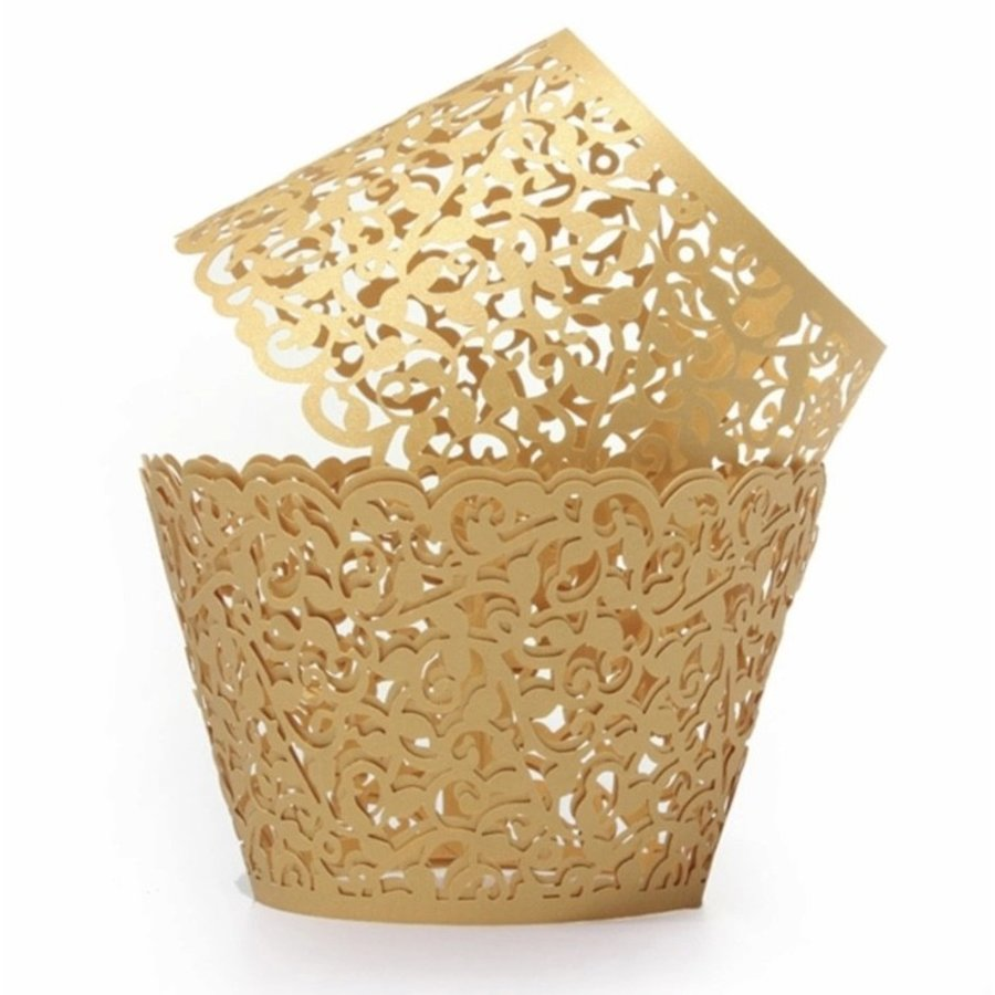 cupcake wrapper kant look goud 10 stuks-1