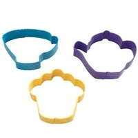 Wilton Tea Party Cookie Cutter Set/3