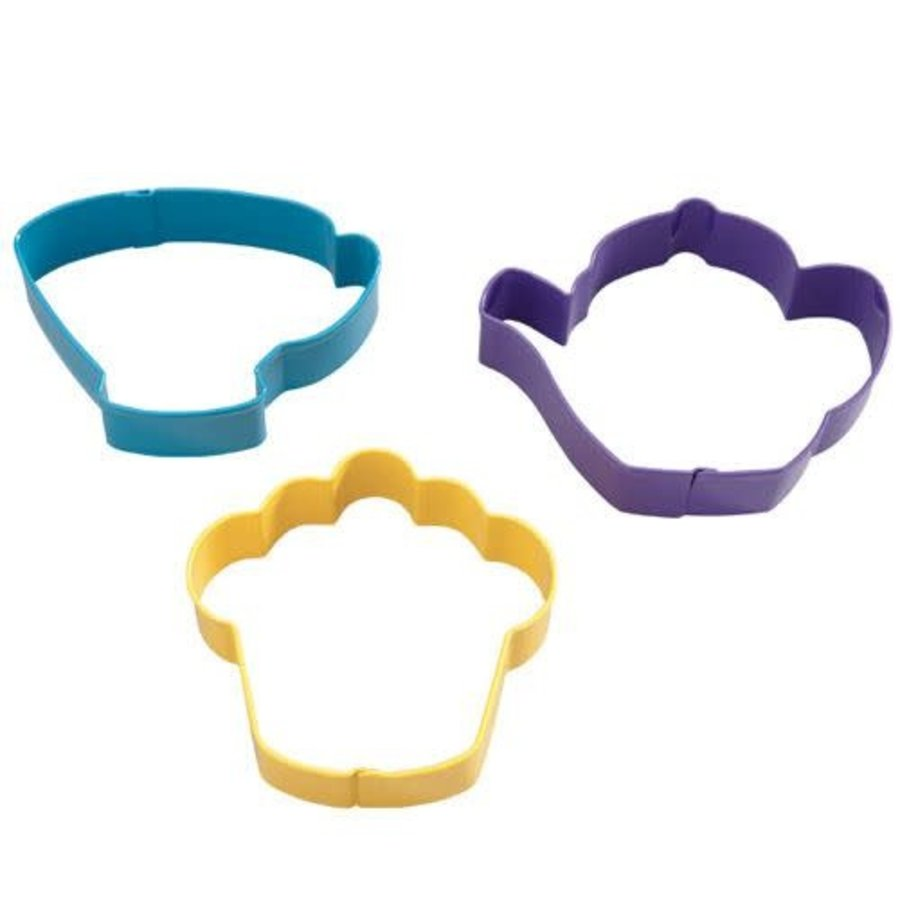 Wilton Tea Party Cookie Cutter Set/3-1
