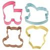 wilton Wilton Cookie Cutter Baby Theme set/4