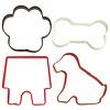 wilton Wilton Cookie Cutter Pet Theme set/4