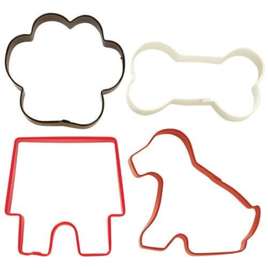 Wilton Cookie Cutter Pet Theme set/4-1