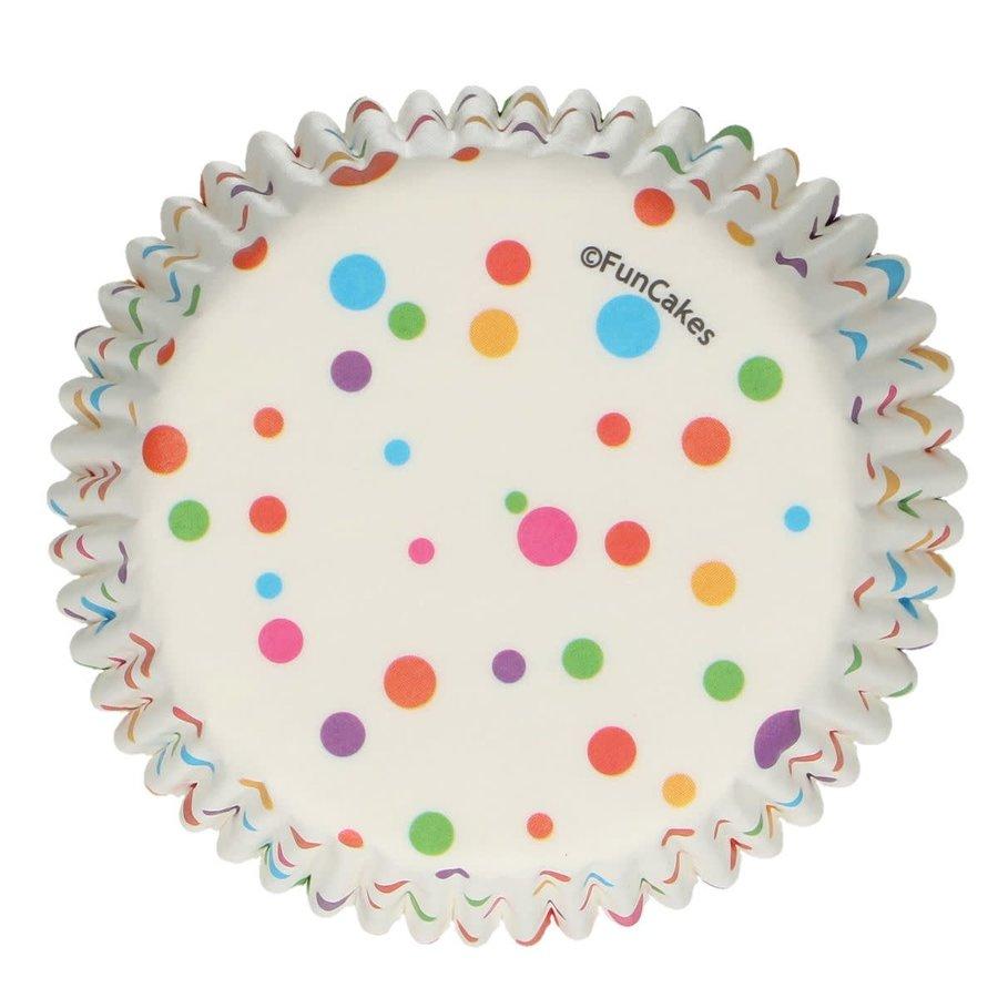 FunCakes Baking Cups -Confetti- pk/48-1