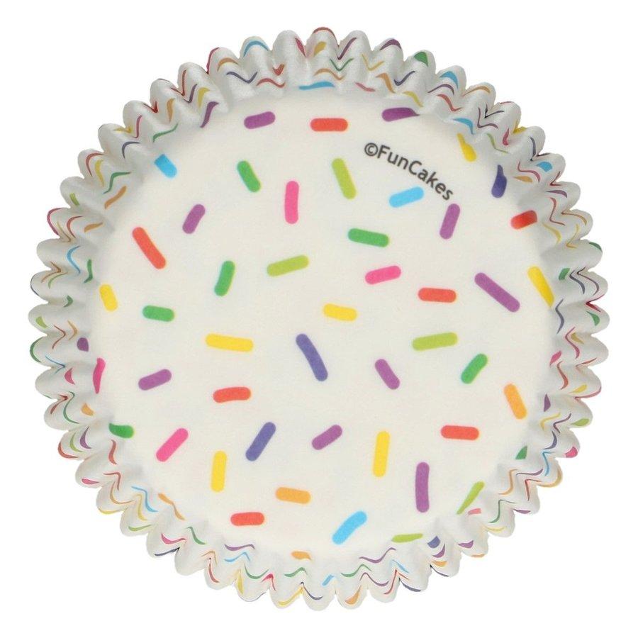FunCakes Baking Cups -Sprinkles- pk/48-1
