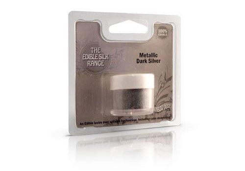 Edible Silk - Metallic Dark Silver