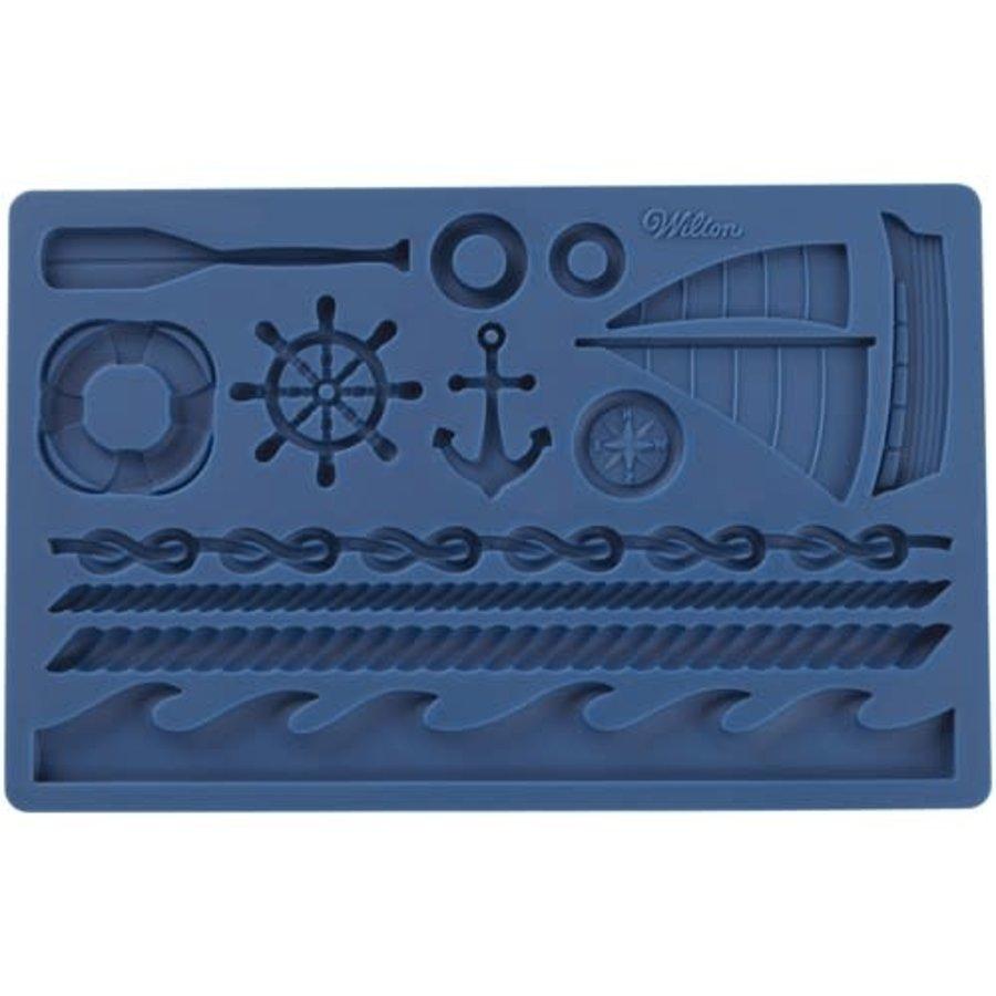 Wilton Fondant & Gum Paste Mold Nautical-1