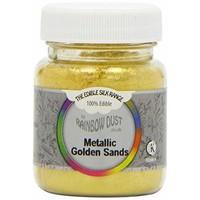 RD Edible Silk - Metallic Golden Sands bulk
