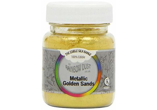 RD Edible Silk - Metallic Golden Sands bulk