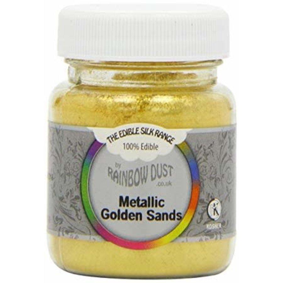RD Edible Silk - Metallic Golden Sands bulk-1