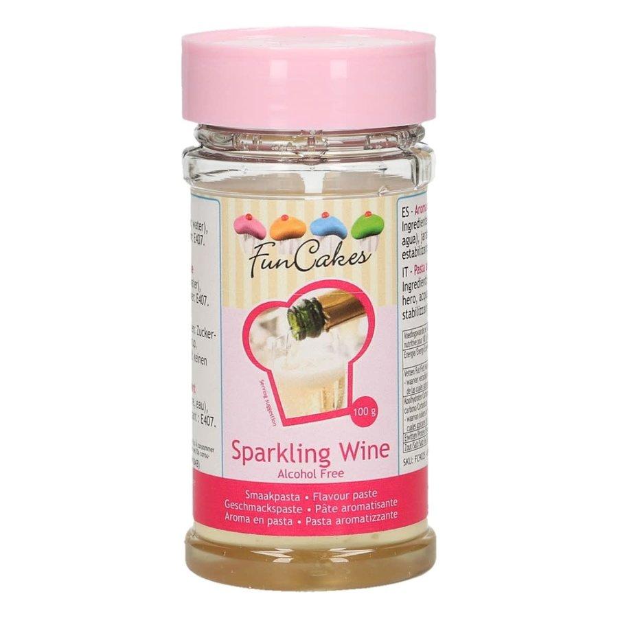 FunCakes Smaakpasta -Sparkling Wine- Alcoholvrij 100g-1