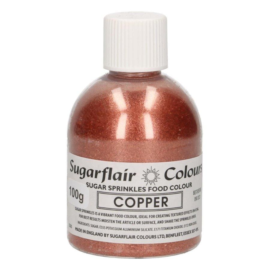 Sugarflair Sugar Sprinkles -Copper- 100g-1
