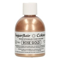 Sugarflair Sugar Sprinkles -Rose Gold- 100g