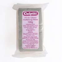 Culpitt Modelling Paste Silver -100g-