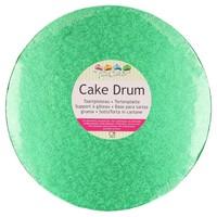 FunCakes Cake Drum Rond Ø30,5cm -Groen-