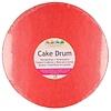 Funcakes FunCakes Cake Drum Rond Ø30,5cm -Rood-