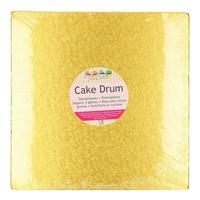 FunCakes Cake Drum Vierkant 30,5cm -Goud-