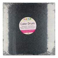 FunCakes Cake Drum Vierkant 30,5cm -Zwart-