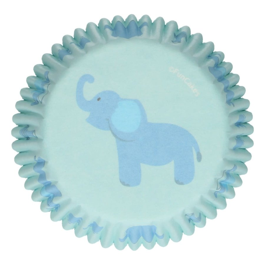 FunCakes Baking Cups -Baby Boy- pk/48-1