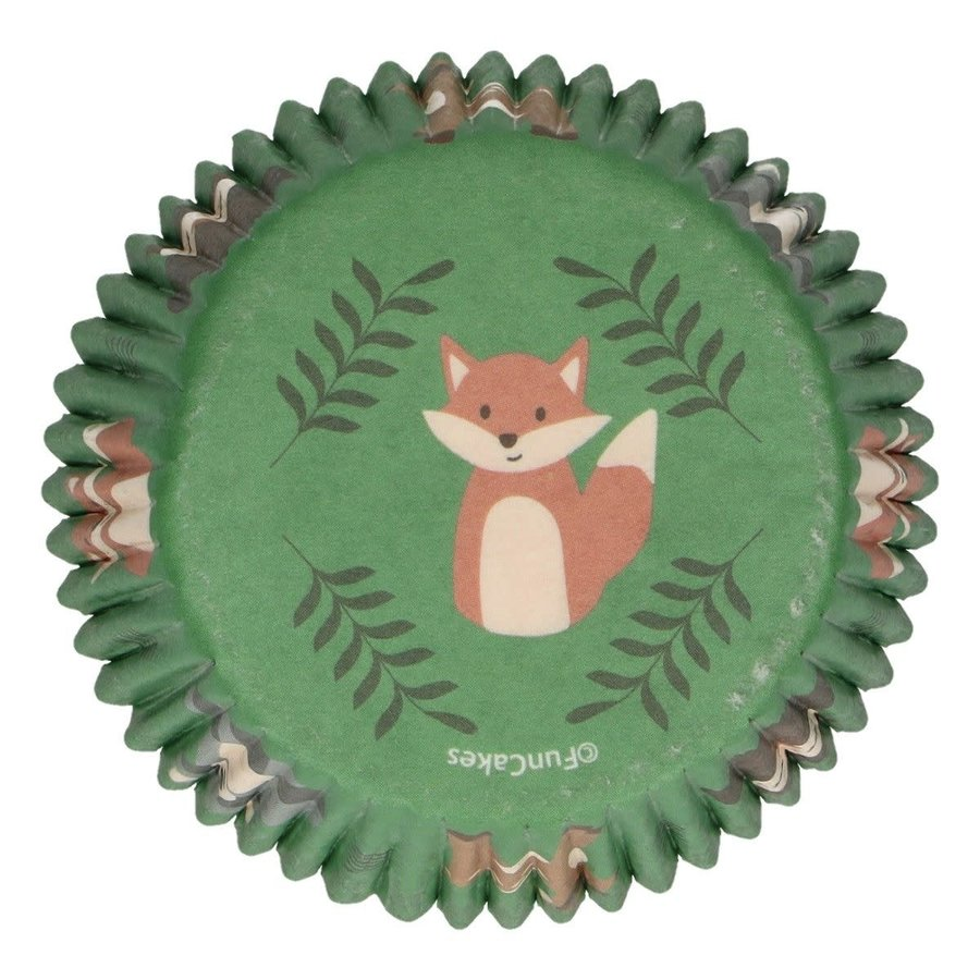 FunCakes Baking Cups -Forest Animals- pk/48-1