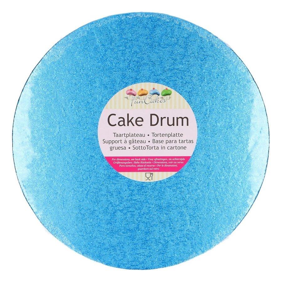 FunCakes Cake Drum Rond Ø25cm Blauw-1