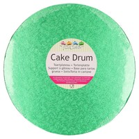 FunCakes Cake Drum Rond Ø25cm -Groen-