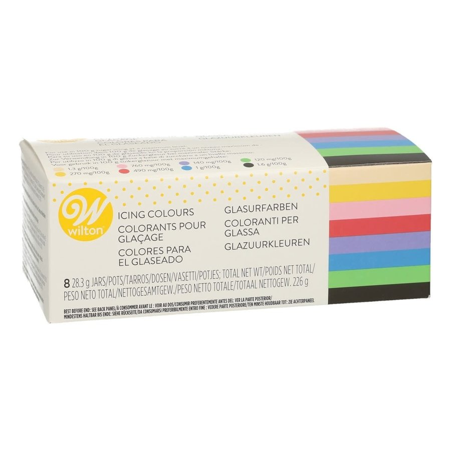 Wilton Icing Color Kit 8 x 28g-1
