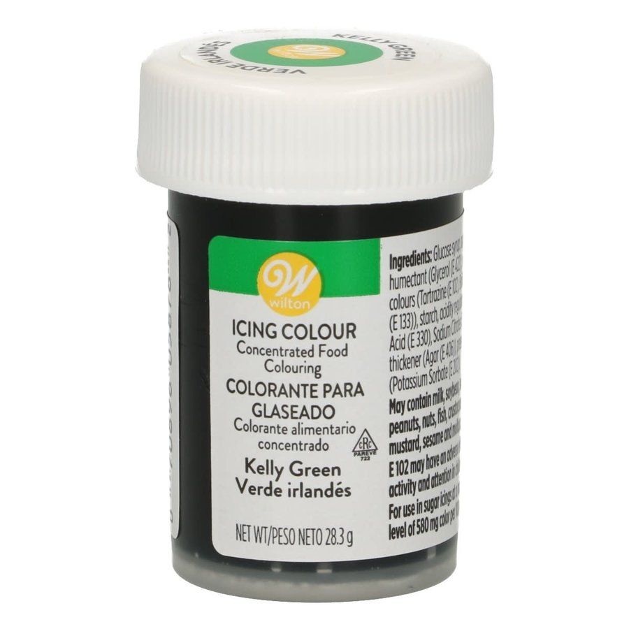 Wilton Icing Color - Kelly Green - 28g-1