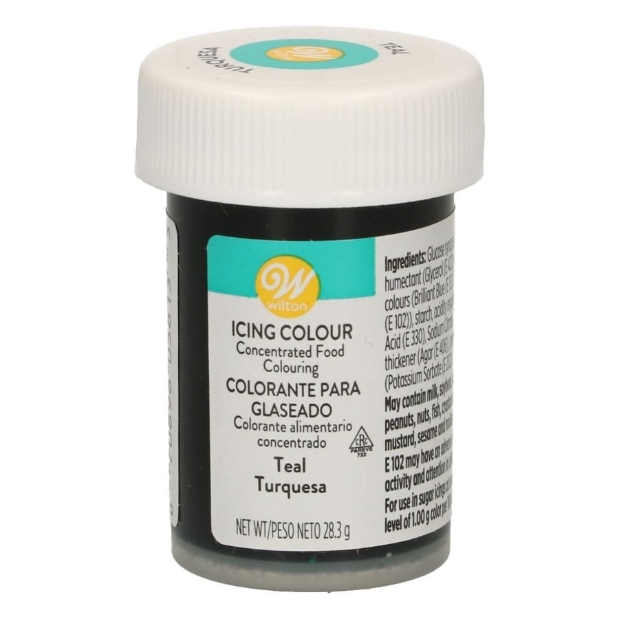 Wilton Icing Color - Teal - 28g-1