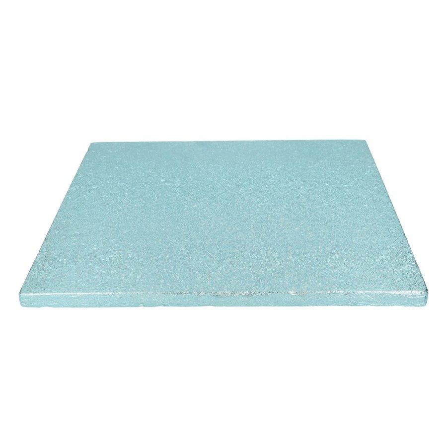 FunCakes Cake Drum Vierkant 30,5cm -Baby Blauw--1