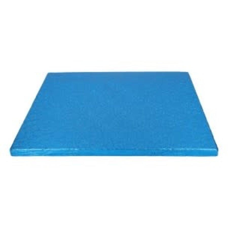 FunCakes Cake Drum Vierkant 30,5cm -Blauw--1