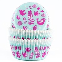 House of Marie Baking cups Teaparty - pk/50