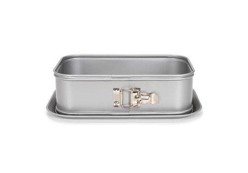 Patisse Silver-Top Springvorm Rechthoek Hoge Rand