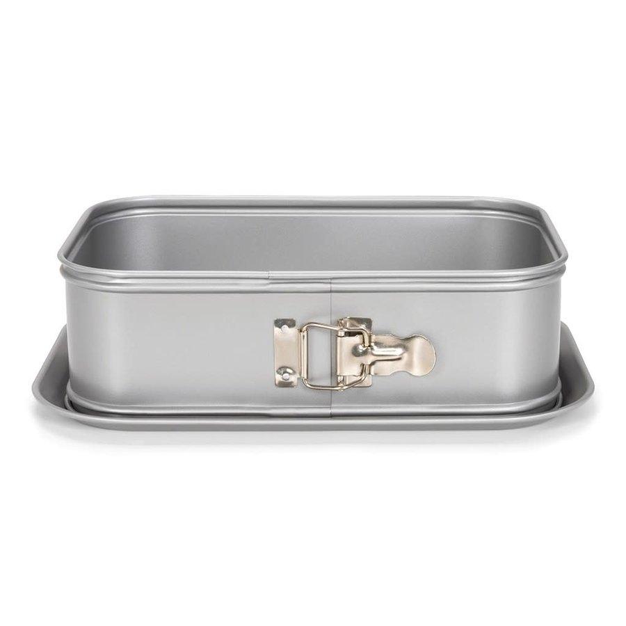 Patisse Silver-Top Springvorm Rechthoek Hoge Rand-1