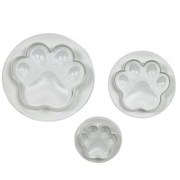 PME Paw Plunger Cutter Set/3