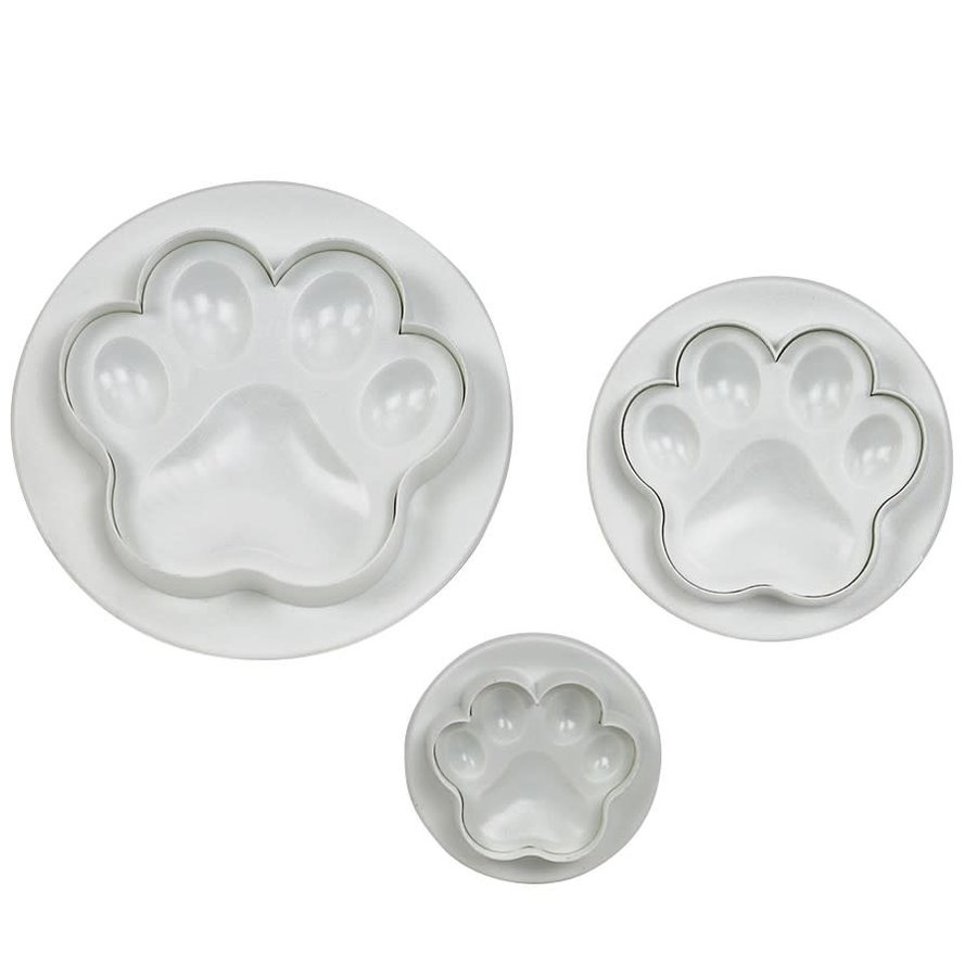 PME Paw Plunger Cutter Set/3-1
