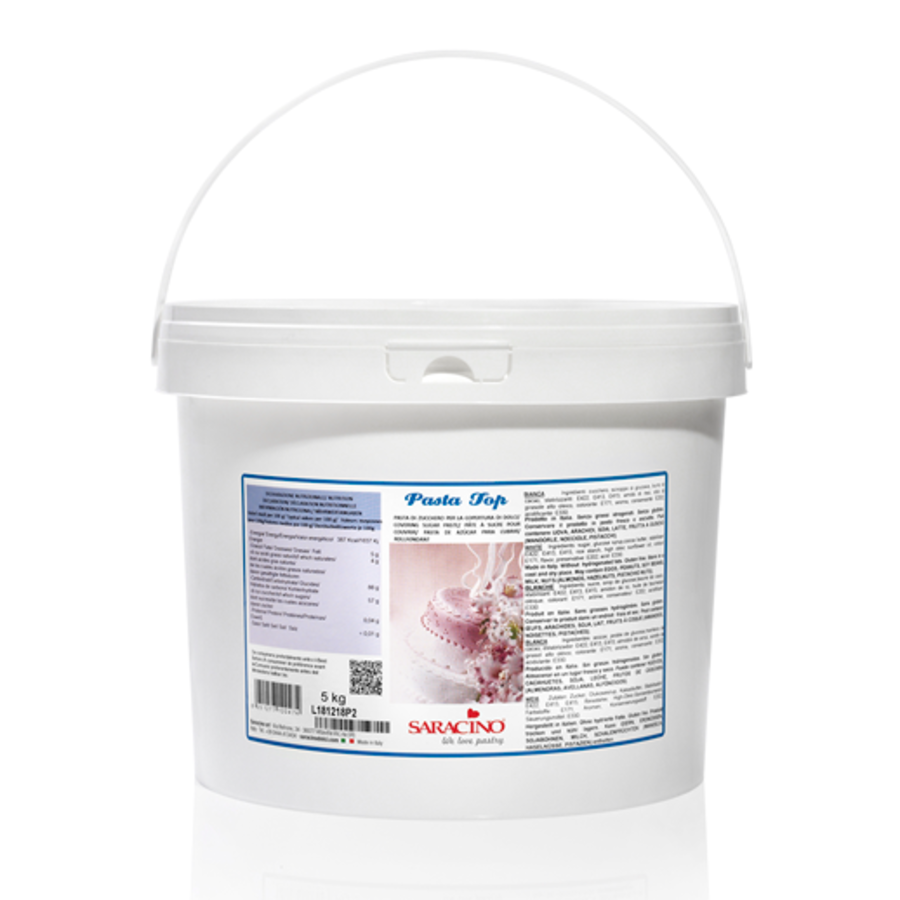 Saracino covering paste 5 kg wit-1