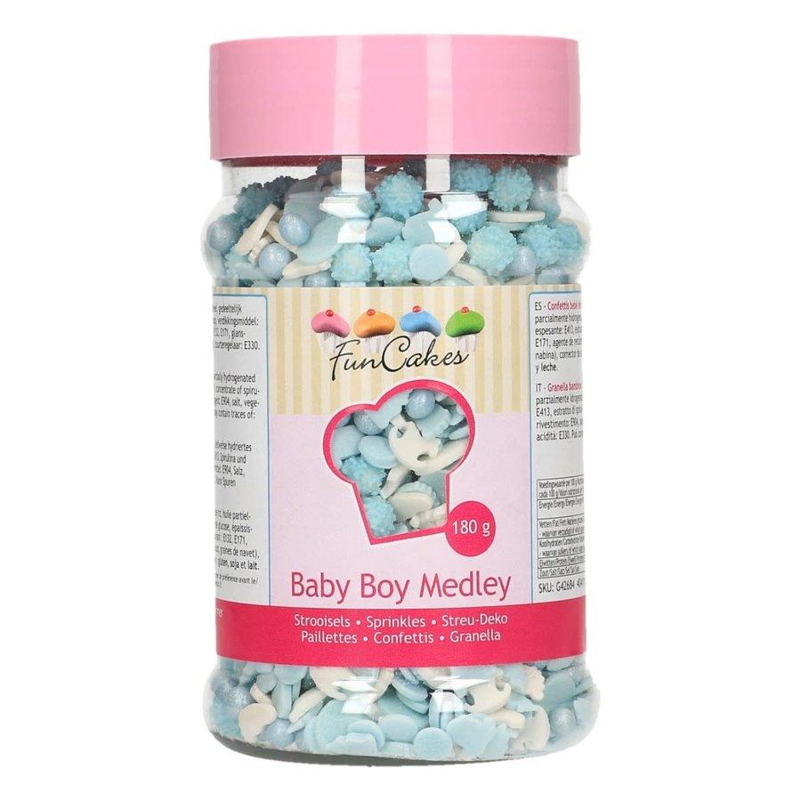 FunCakes Sprinkle Medley -Baby Boy- 180g-1