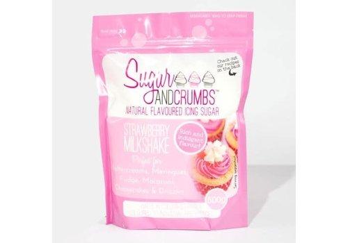 Sugar and Crumbs Icing Sugar -Strawberry Milkshake-