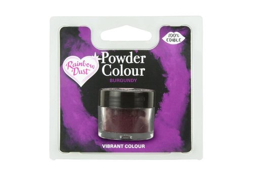 RD powder color- burgundy 3gr