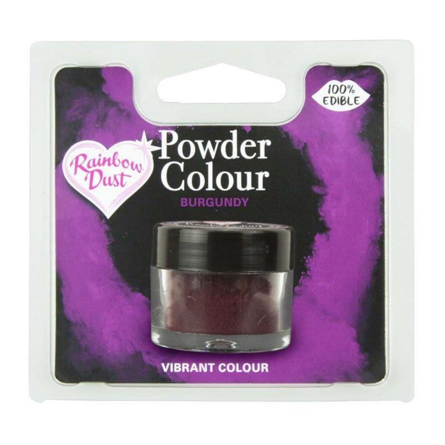 RD powder color- burgundy 3gr-1