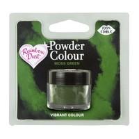 RD powder colour moss green