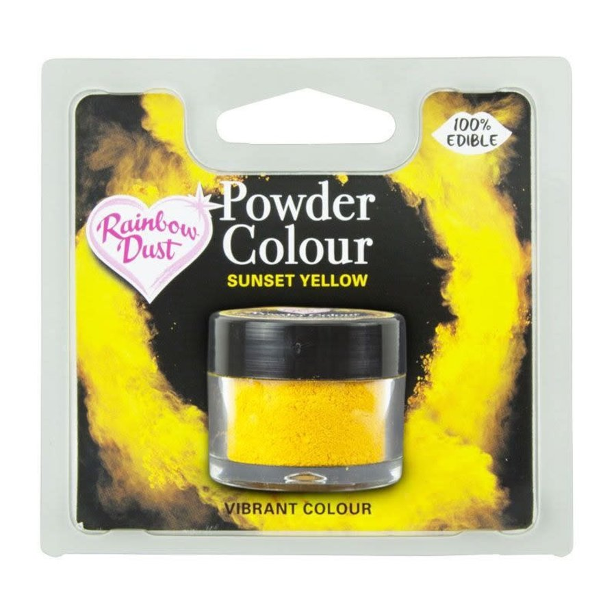 RD powder colour sunset yellow-1